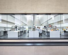 The £82 million Sainsbury Laboratory by London-based architectural firm Stanton Williams has been shortlisted for the 2012 RIBA Stirling Prize for architecture.