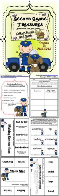 Treasures ~ A Treasure Of A Unit For Grade: Officer Buckle And Gloria Reading Lessons, Reading Resources, Reading Strategies, Writing Activities, Teaching Reading, Third Grade Reading, Second Grade, Officer Buckle And Gloria, Vocabulary Definition