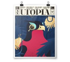 Utopia by Carlos García, via Behance