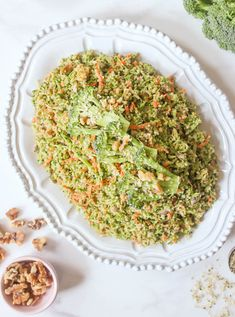 Quinoa Broccoli Slaw. The perfect, healthy summer side for any occasion! #SummerSoiree