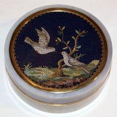 antique micromosaic | Antique micromosaic...