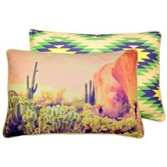 Desert Digital Print Double Sided Cushion Cover