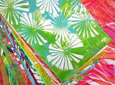 Printing with Gelli Arts®: Gelli® Printing with Folded Paper!!