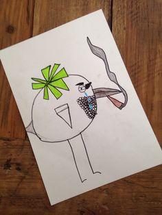 Ontwerp vogel *Door Ruben