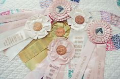 vintage horse show ribbons