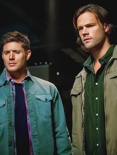 Dean and Sam 9x21 King Of The Damned