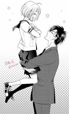 Anime Girl Cute, Cute Anime Couples, Manga Love, Manga To Read, Anime Naruto, Manga Anime, Takane To Hana, Free Manga Online, Couple Cartoon