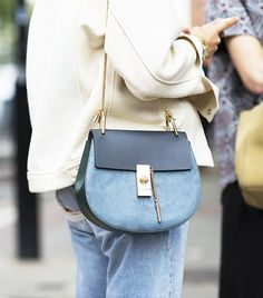 No mor worrying about jean color transfer! #perfectbag