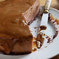 Chocolate-Dulce de Leche Flan by David Lebovitz