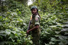 """Meet the First Female Rangers to Guard One of the World's Deadliest Parks. Being a ranger, or """"gardien du parc,"""" in Virunga's paramilitary conservation brigade is one of the most prestigious jobs in Eastern Congo. It's also considered the most dangerous job in wildlife: Since 1996, more than 150 Virunga rangers have been killed in the line of duty. -- They try to protect mountain gorillas from poaching. The rangers are also at risk from anti-government rebel fighters and illegal loggers."""