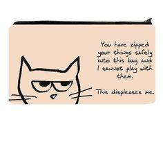 Love this grumpy cat!