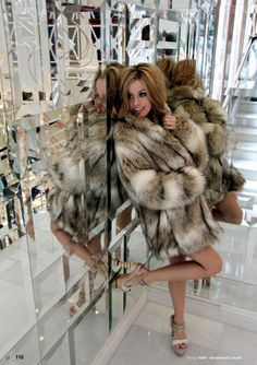 Cute Faux Fur Coat