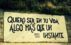 Quiero ser en tu vida algo mas que un instante #Acción Poética Cusco #accionpoetica