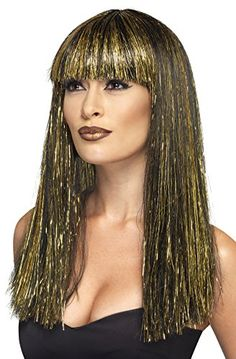 Smiffy's Women's Egyptian Goddess Wig, Multi, One Size >>> Check this awesome product by going to the link at the image. (This is an affiliate link) #pinkstagram
