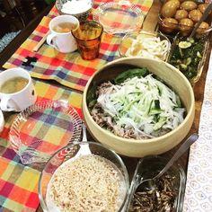 モコーデ: のんびり過ごすスウェット休日コーデとおいしい夕飯 5月29日