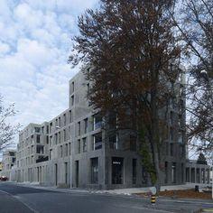 Max Dudler - Zentrumsüberbauung Rosengarten, Arbon