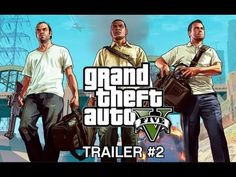 Grand Theft Auto 5 Official Trailer HD