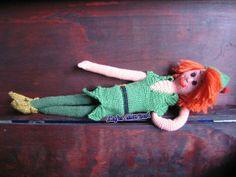 Piotruś Pan szydełkowy / Peter Pan crochet handmade