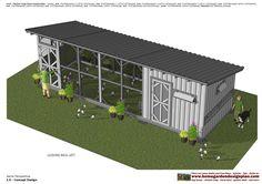 L110 - Chicken Coop Plans - Chicken Coop Design How To Build A Chicken Coop L110 - Chicken Coop Plans - Chicken Coop Design How ...