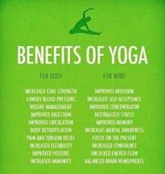 Yoga is great for everyone!