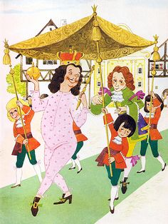 'The Emperor's New Clothes' by Anny Hoffmann [Pestalozzi Verlag] | Flickr - Photo Sharing!