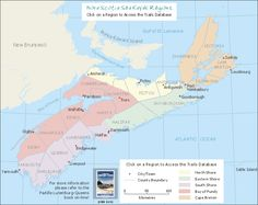 link to NS trails and hikes