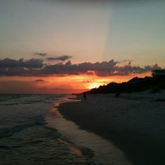 Sunset at Seagrove!