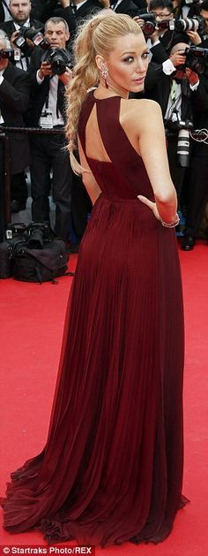 Berry nice! The striking actress ensured she commanded attention among the great and good of Hollywood as she hit the red carpet