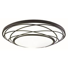 allen + roth 19-in White Ceiling Flush Mount ($90) / lowes.com //  Or maybe this one??  j.