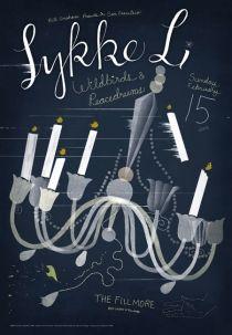 #houseofdesign | Poster Design by C.S. Neal for Lykke Li