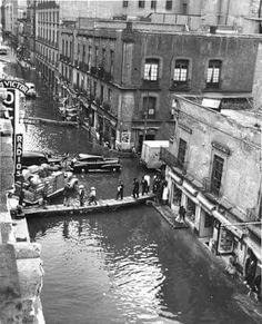 Inundación de la ciudad de México en 1950