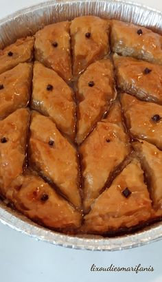 Greek Cake, Baklava Recipe, Stevia, Apple Pie, Sweets, Diet, Cooking, Desserts, Recipes