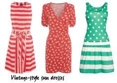 vintage sundress styles