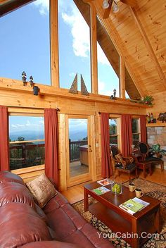 My view for football and Christmas day....Gatlinburg Cabins Timber Tops Pigeon Forge Cabin Rentals