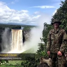 Today we're back with the #7 #ArmyROTC Cadet in the nation! Brought to you by Command Sergeant Major Jerimiah E. Gan, here's Joseph Oleski from Shippensburg University! Cadet Oleski, from the Raider Battalion, is pursuing an environmental science degree and will branch Engineer - #ESSAYONS! #LeadershipExcellence | #TopTenOML Shippensburg University, Leadership Excellence, Order Of Merit, Rotc, Environmental Science, Top Ten, Engineer, Good News, Niagara Falls