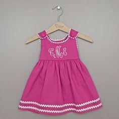 44b2cd21e7bd6 8 Best Baby Girl Monogrammed Dresses images in 2014   Girls dresses ...