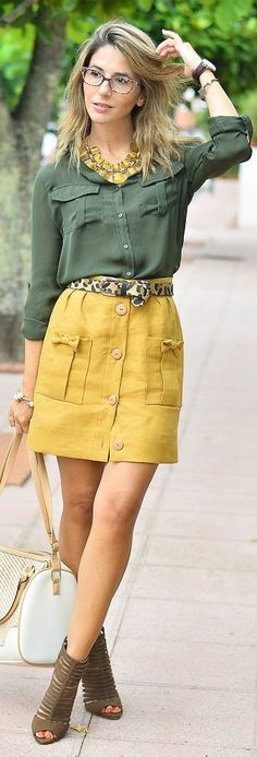 Ma Petite By Ana Olive And Mustard Safari Vibes Outfit