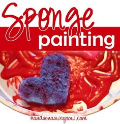 sponge painting...i found this on pinterest isnt this cool