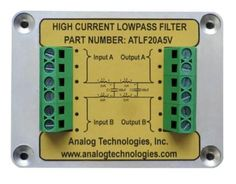 High Current Low Pass Filter,Laser Drivers