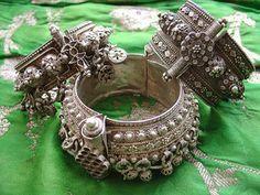 Old silver bracelets from Yemen | Flickr - Photo Sharing!