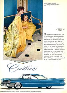 Cadillac advertisement, 1950s