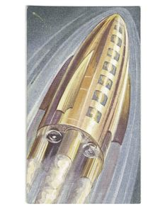 Will man travel in space? Arents Cigarette cards, 1935-38. Max,...