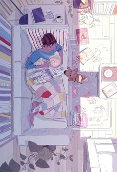 I'm home and sick today. Charly is keeping me company. Tom Bagshaw, Art Sketches, Art Drawings, Pascal Campion, Color Script, Background Drawing, Type Illustration, Environment Concept Art, Illustrations And Posters