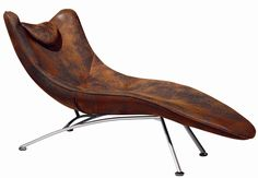Unique Leather Lounger Contemporary Chaise Lounge Chairs Chair Design Modern