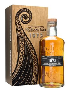 Highland Park 1973 / 37 Year Old : Buy Online - The Whisky Exchange - A cracking travel retail exclusive bottling from Highland Park. Distilled in 1973 and bottled at 37 years old in 2010 it was quite a rare release which wowed those who tasted it. Fortunately weve ...