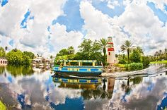 A fisheye view of Disney's Old Key West Resort. The original Disney Vacation Club Resort! Visit my blog for info, photos, and reviews of Dis...