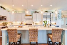 411 best coastal kitchens images on pinterest in 2018 coastal