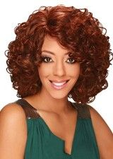 Attractive Mid-length 130% Density Curly Lace Front Wig