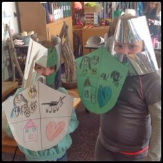 Investigating Castles Part 4: Knights and Defense (from Inquiring Minds: Mrs. Myers' Kindergarten)