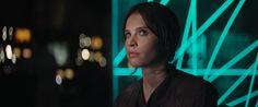 Felicity Jones plays Jyn Erso, Rebel Spy, in ROGUE ONE: A STAR WARS STORY, opening December 16, 2016
